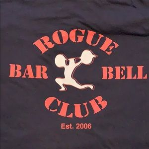 Rogue Fitness men's tee sized XL